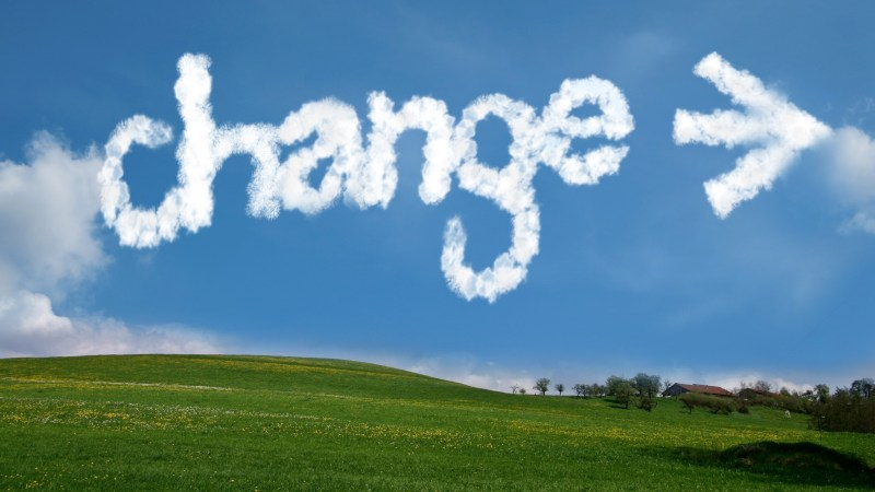 An Intriguing Perspective on Change