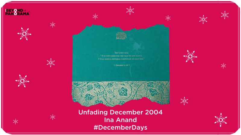 Unfading December 2004 | Ina Anand