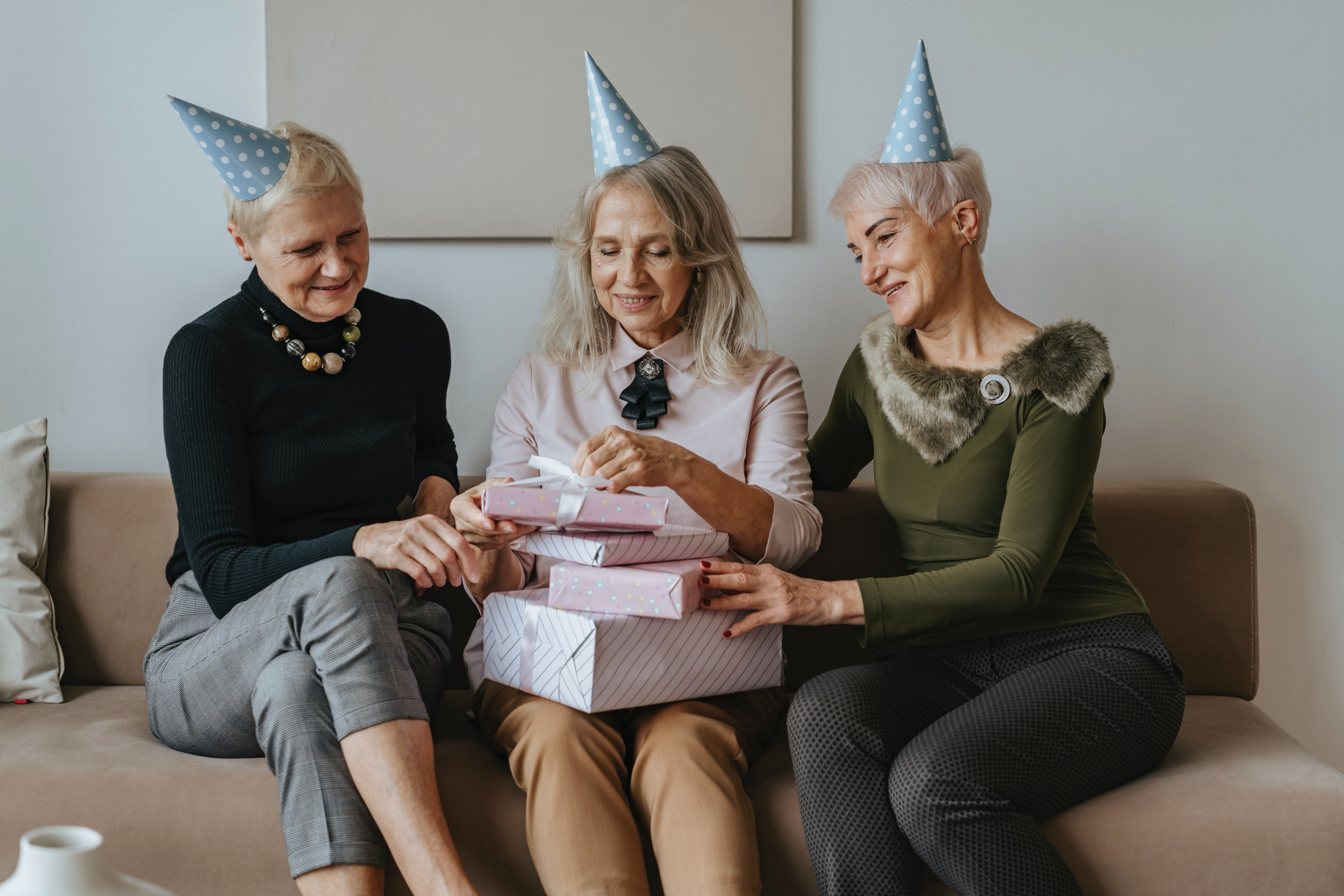Birthdays, Ages 10 to 70