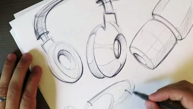Headphone Drawing