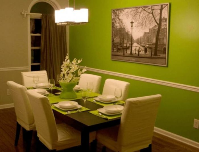 Dining Room Paint Color Green