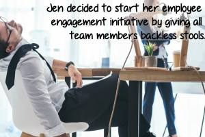 Your lack of engagement isn't entirely your boss's fault