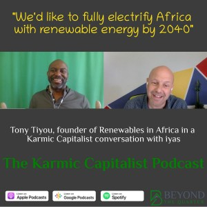 Tony's on a mission to bring power to Africa - Renewables in Africa