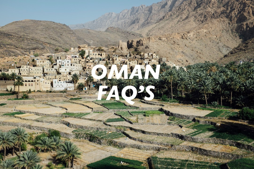 Frequently Asked Questions About Travel in Oman