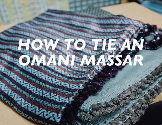 How to Tie an Omani Massar