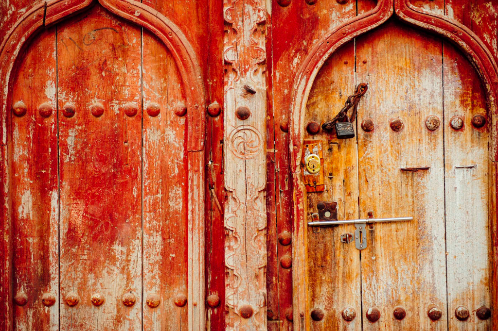Old Omani Doors