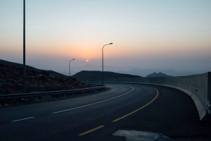 Jebal Akhdar road