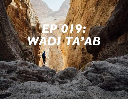 Wadi Ta'ab, Canyoning Oman