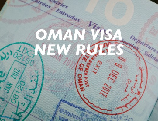 oman visa new rules, mandatory evisa, required e-visa