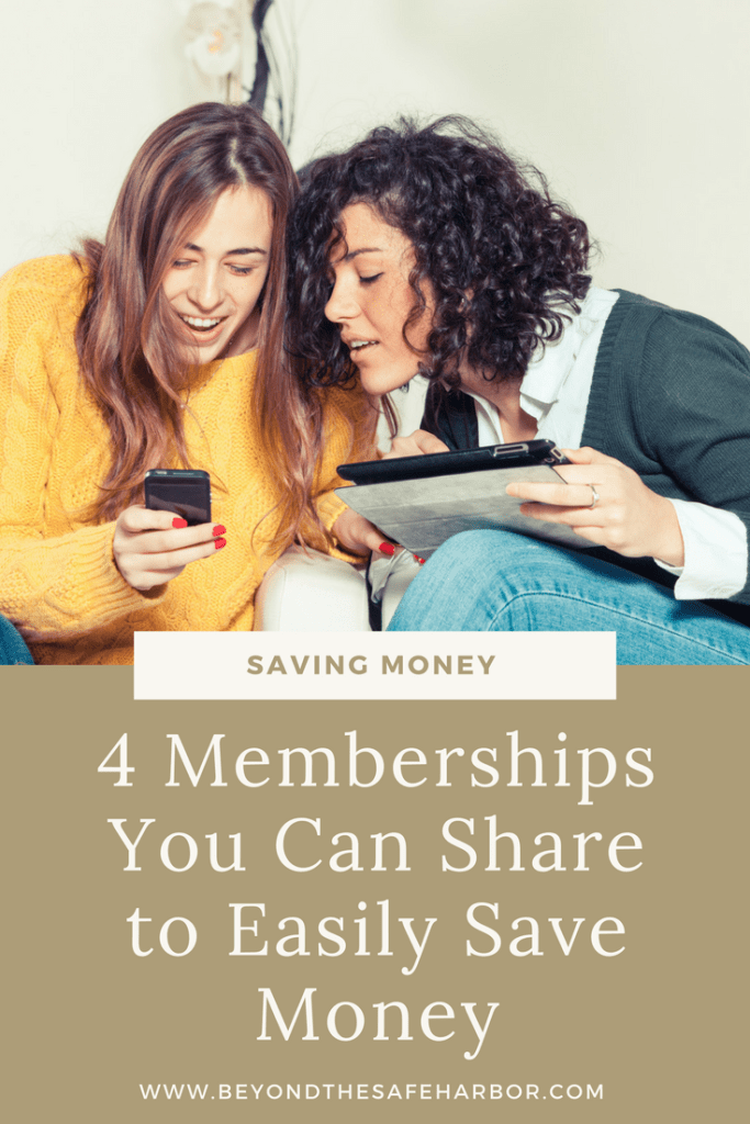 4 Memberships You Can Share to Easily Save Money
