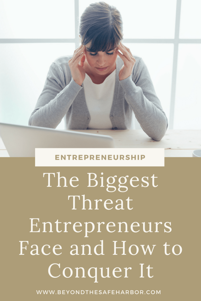 The Biggest Threat Entrepreneurs Face and How to Conquer It