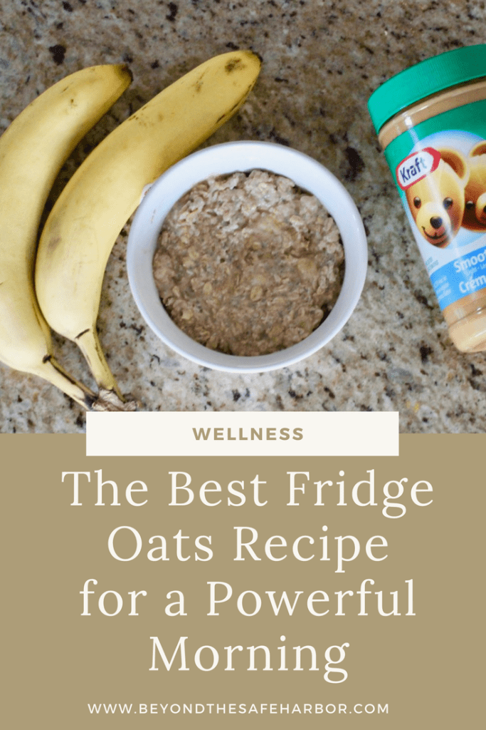 The Best Fridge Oats Recipe for a Powerful Morning