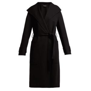 JOSEPH  Lista tie-waist wool-blend coat