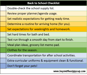Ways to Help Your Middle Schooler Get organized for Getting Back to School