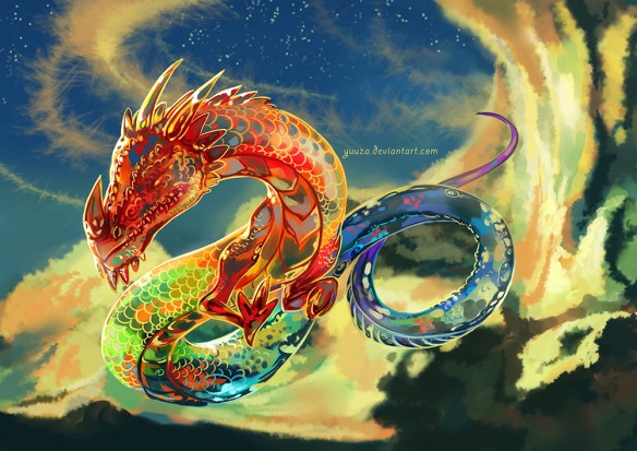 The 7th house dragon