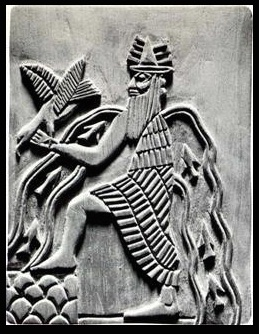 Enki, with one foot on land, one in the water. These seeming 'contradictions' sum up Capricorn's ability to function in both realms, adding to the versatility of the native, if both functions of the personality are allowed to fully develop.