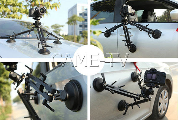 Suction cup car mount - cametvblog.com