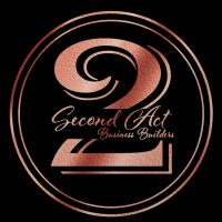 Second Act Business Builders Logo - RoseGold