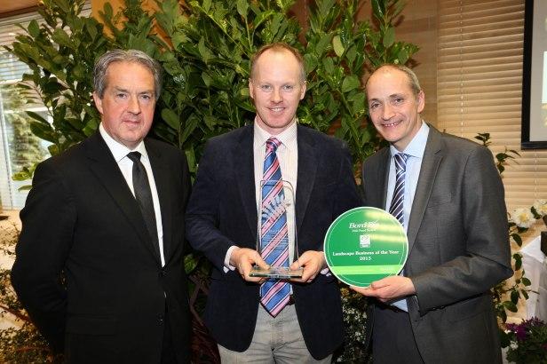 Landscape Business of the Year was won by Sligo based Thomas J. Crummy Landscaping