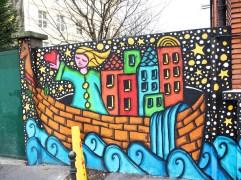 street art ship Paris 10e