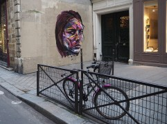 Street art in the Marais, January 2015