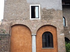 Rome brick, paint and windows