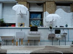 washing facilities Grand Voisins