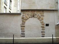 A doorway that's no longer an entrance....