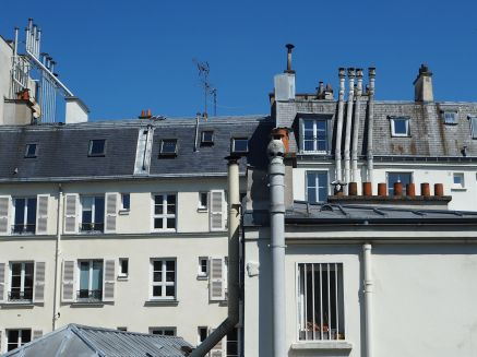 As new buildings overshadowed old ones, chimneys were extended to catch the breeze