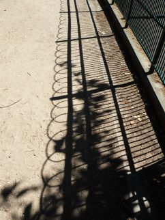 Playground railings in the Jardin du Luxembourg