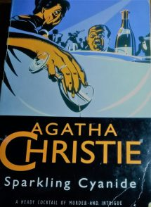 """Must-Read Agatha Christie Books""- Book Cover ""Sparkling Cyanide"""