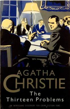 """Must-Read Agatha Christie Books""- Book cover ""The Thirteen Problems"""