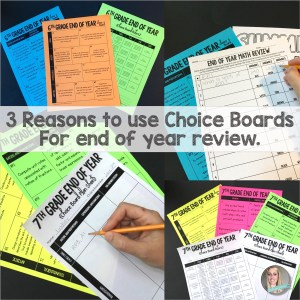 Choice Boards Square