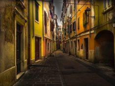 Narrow streets, Piran