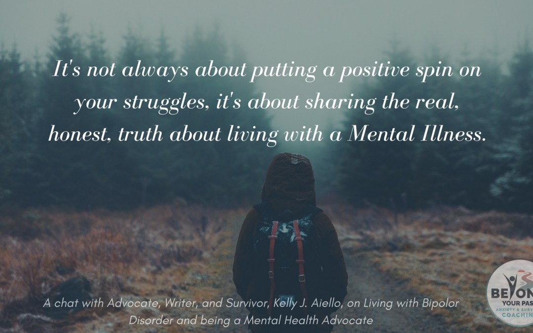 Mental Health Advocacy and Living with Bipolar Disorder, with Kelly Aiello
