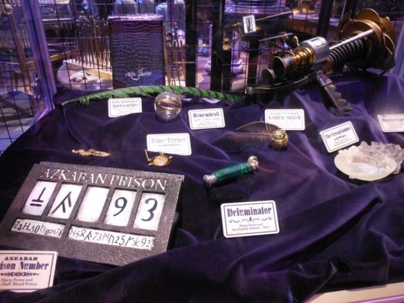 objets studio Harry Potter