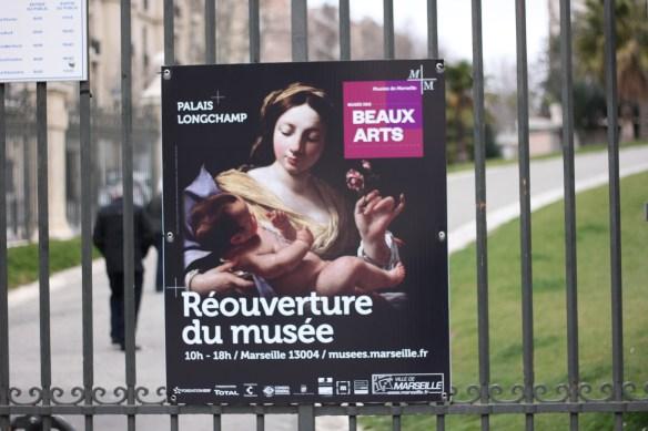 Réouverture du Musée des Beaux Arts au Palais Longchamp
