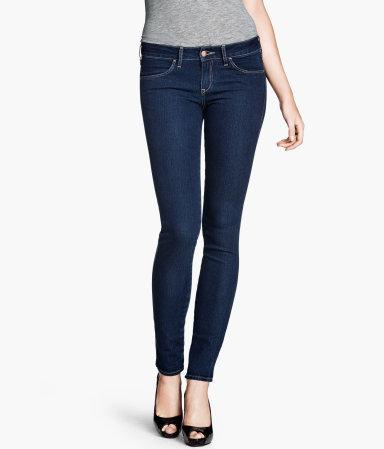 sélection H&M :Jean Skinny Low H&M