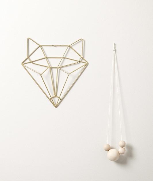 tête de renard origami
