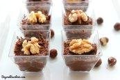Vegan sweet potato chocolate mousse bz