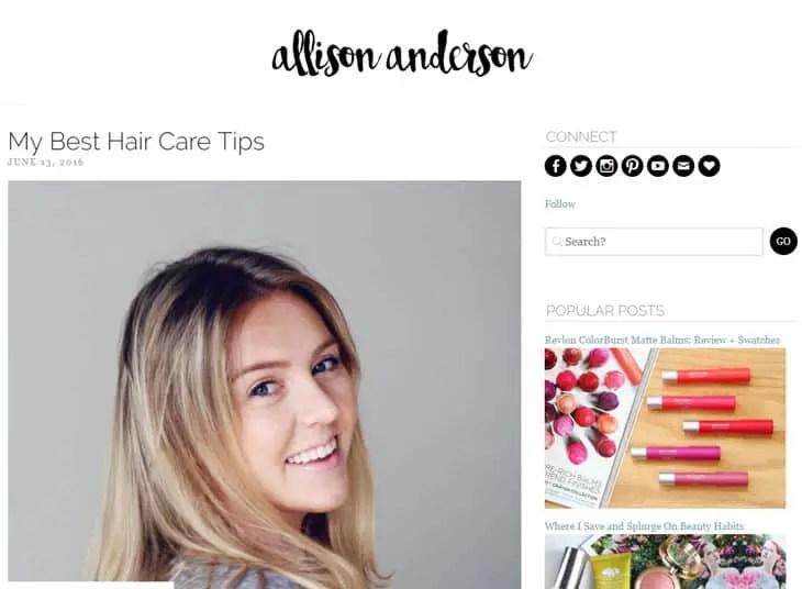 Allison Anderson