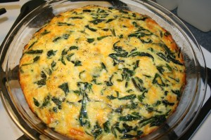 How To Make a Crustless Swiss Chard Quiche