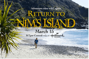 Return to Nim''s Island Blu-ray Combo Pack Giveaway and Blog App *OVER*