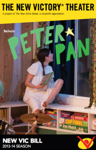 Belvoir's Peter Pan at The New Victory Theater #NYC #Review