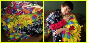 Fox Home Entertainment Sponsors Blanket Making Parties For Project Linus #PercyHeroes