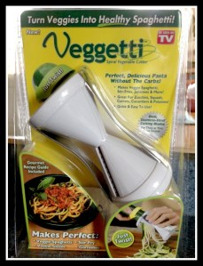 Veggetti: Healthy Veggie Spiral Cutter #Review