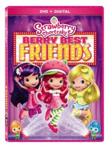 Strawberry Shortcake Berry Best Friends on DVD Available Now #BerryBestFriends  #FHEInsiders