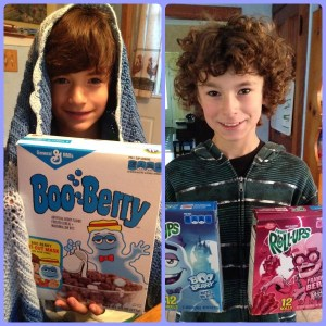 Big G Monster Cereals and Snacks at Target #retromonstercerea #PlatefullCoOp #Paid