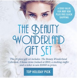 The Beauty Wonderland Gift Set by TotalBeauty.com #DiscountCode #Review