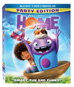 Home on Blu-ray/DVD Plus Printables #Giveaway #HomeInsiders